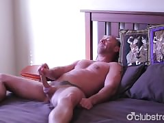 Unnerved Out in the open Blake Masturbating