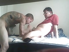 tattooed candid chap fucked unconnected with BD