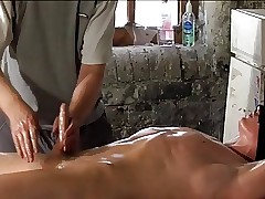 BDSM following detached young man tickled pink & milked schwule jungs