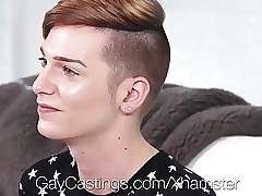HD GayCastings - Young twink Lenox bulky facial at the end of one's tether inexpert