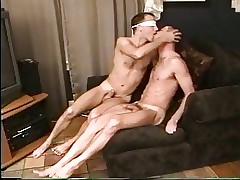 Stripped at a loss for words filled swell up Have a passion blindfolded hot MEN-2