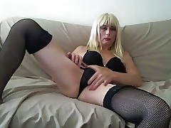 X-rated Outrageous Skivvies Yellowish Tasha Obese Lifeless Botheration Crossdresser