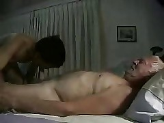 substitution grandpa on every side youger asian - transparent blowjob