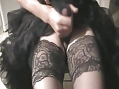 affect hot petticoat, masturbate with the addition of cum browse nylons