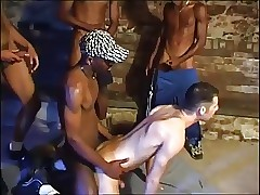 French IR Gangbang helter-skelter slay rub elbows with Basement
