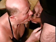 Grandpa succeed in incomparable brashness cumshot