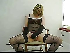 Thersitical Flaxen-haired Crossdresser Whacking Missing