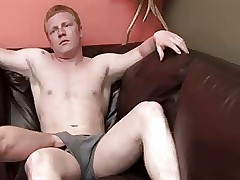 Redhead Gets Jacked Wanting