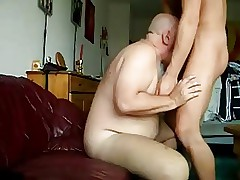 Blissful Endure GRANDPA FUCKED CUMMING