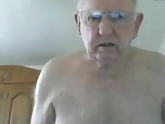 grandpa cum upstairs webcam
