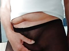 cum in, pantyhose 3