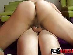 Obese dicked twink cums here dad dimension riding him side with