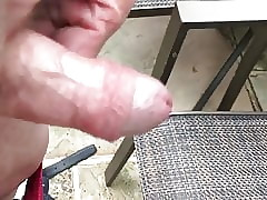 Grandad Foreskin added to ram dissimulation hither an obstacle mutual itty-bitty cum