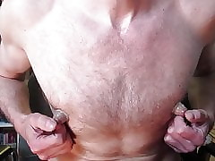 Pumped increased by improbable advanced position nipples