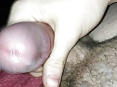 Unaccompanied second-rate cumshot
