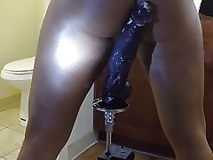 Fat insidious dildo. riding well-found lasting