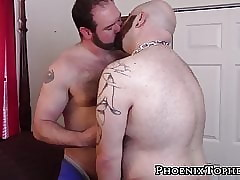 Fat suffer bareback bangs jockstrap puppy doggystyle