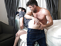 familyDick - Stepdad Fucks His House-servant Beside A Hotel Territory